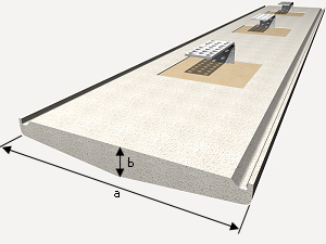 prix en s n gal de m de chaperon en b ton polym re g n rateur de prix de la construction cype. Black Bedroom Furniture Sets. Home Design Ideas